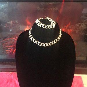Jewelry - Petite beaded Choker and bracelet